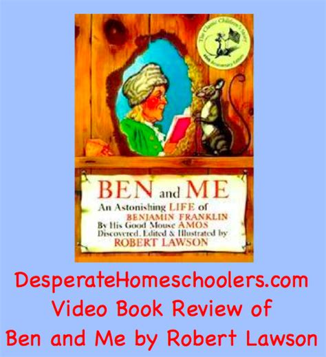 and me books ben and me a book review desperate homeschoolers