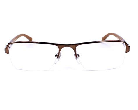 chopard 175 brown chopard eyeglasses vch 834 0k01 brown visionet