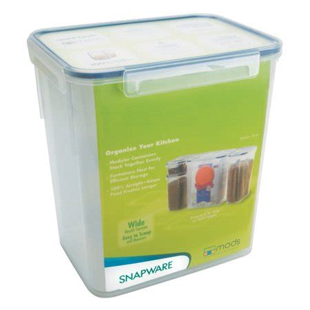 snapware containers snapware 1098423 23 cup medium rectangle storage container walmart