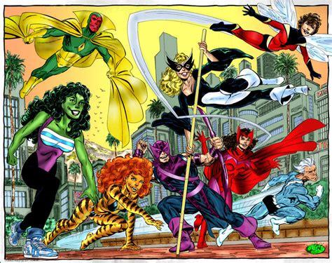 libro avengers by john byrne west coast avengers by john byrne pencils inks and javi solanes colors album john byrne