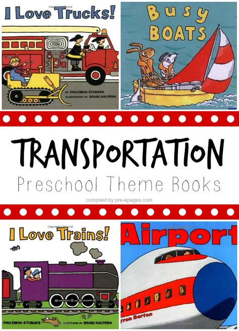 book themes for kindergarten transportation theme books for preschool preschool