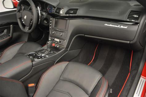 maserati granturismo convertible interior new 2017 maserati granturismo cab sport greenwich ct
