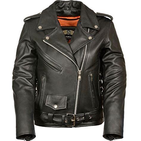 Jaket Black Premium List Abu lc2701 black basic classic motorcycle premium leather jacket with plain sides medium