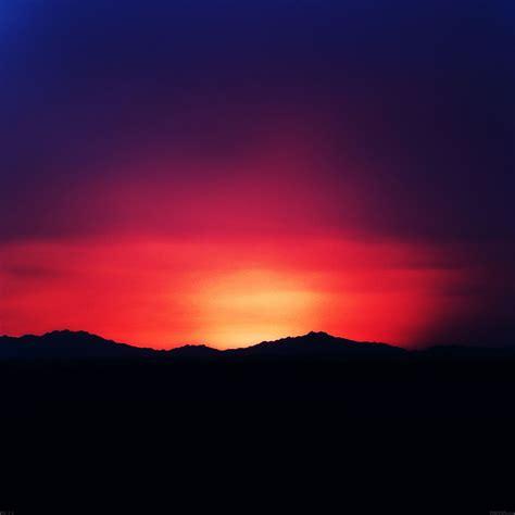 Freeios7 mf73 sunset lake in dark mountain parallax hd iphone ipad wallpaper