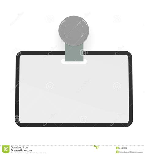 id tag template id badge template stock images image 24421384