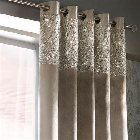 at home curtains kylie minogue at home esta silver curtains in ready made