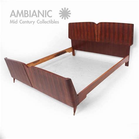 Italian Bed Frames Mid Century Modern Italian Bed Frame After Borsani For