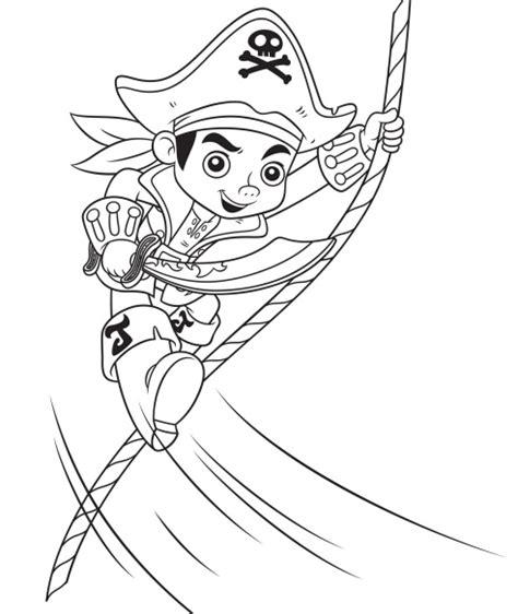 imagenes de jack para colorear dibujos de capit 225 n jake pirata y amigos para colorear mi