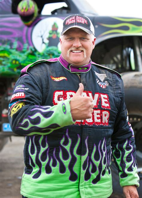 who drives grave digger monster truck ride along with grave digger performance video truck trend