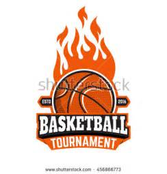 Basketball Tournament Program Template by Burning Basketball Stock Photos Images Pictures