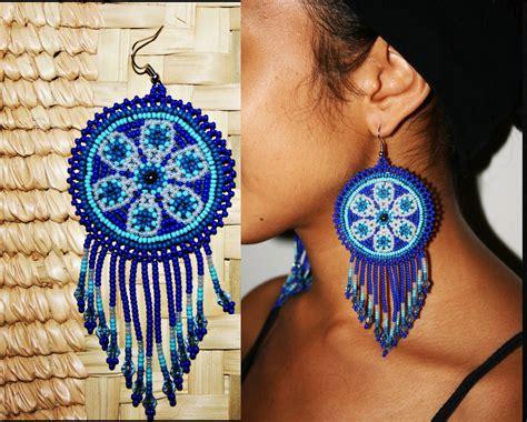 beadwork earrings 60 beaded earring