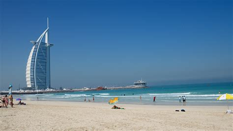 Burj Al Arab Hotel by Jumeirah Beach Beach In Dubai Thousand Wonders