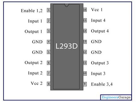 Diskon L293d Shield Motor Driver L293 Arduino 293 l293d motor driver ic l293d datasheet engineersgarage