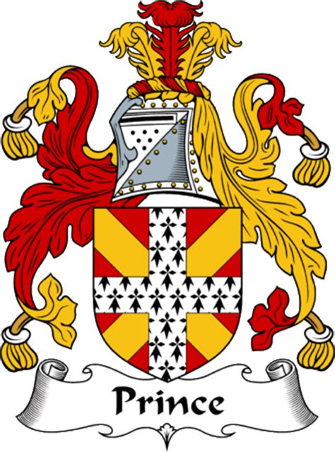 EnglishGathering   The Prince Coat of Arms (Family Crest