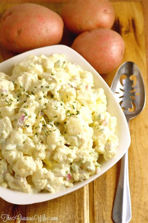 best potato salad best potato salad recipe the gracious