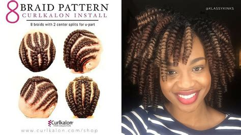 how much hair to leave out in a sew in how to crochet braids w caribbean bounce curl tutorial