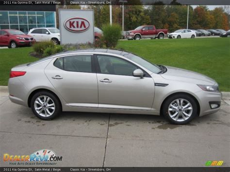 Kia Optima Satin Metal Satin Metal 2011 Kia Optima Ex Photo 3 Dealerrevs