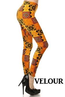 velour patterned leggings wholesale velour leggings yelete com