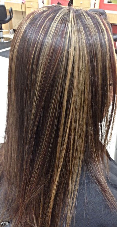 dark blonde hair with lifht blonde highlights wpid dark brown hair with blonde highlights and red