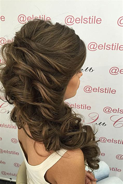 Wedding Hair Up To by 1000 Ideas About Side Curls On Bridal Hair