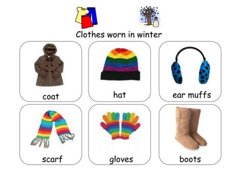 clothes for different seasons worksheet sorting weather clothes by ibuzzybea teaching resources