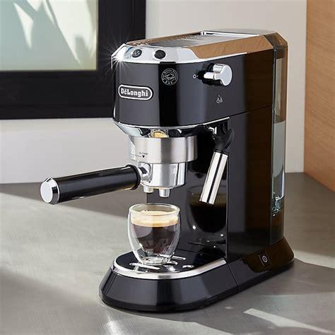 DeLonghi ® Dedica Slimline Black Espresso Maker   Crate