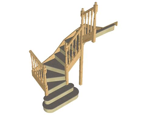 Turning Staircase by Tkstairs Guide On How To Measure A Double Turn Staircase