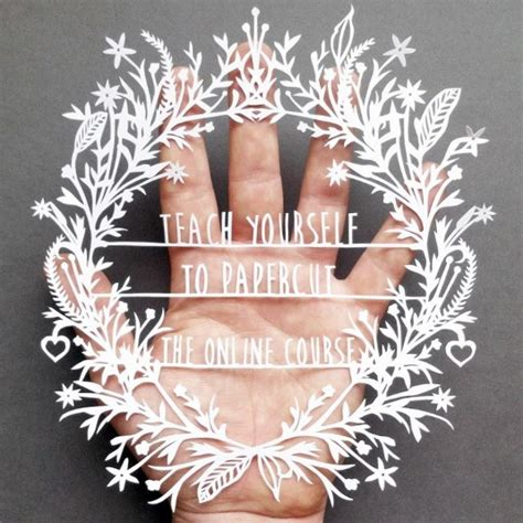 How To Make Paper Design Cuttings - teach yourself the of paper cutting with this e course