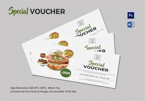 free meal coupon template coupon voucher design template 26 free word jpg psd