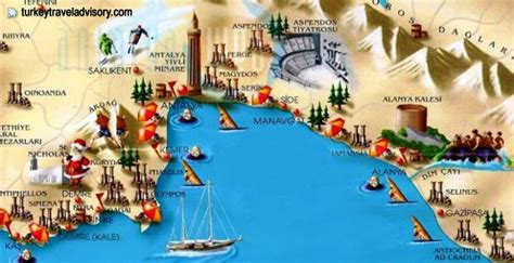antalya map tourist attractions turkey maps turkey travel map tourist map istanbul map