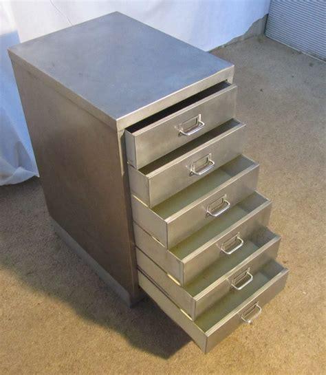 antique map file cabinet vintage 20th century steel 4 filing cabinet