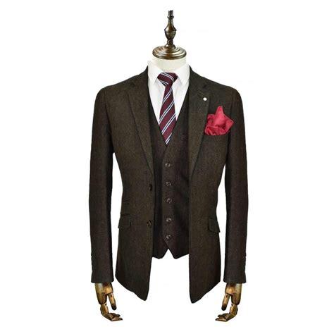 cavani kaos 3 suits plain tweed regular fit blazer navy