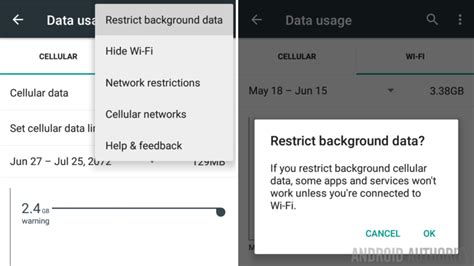 turn background data system checkup keep tabs on background data usage