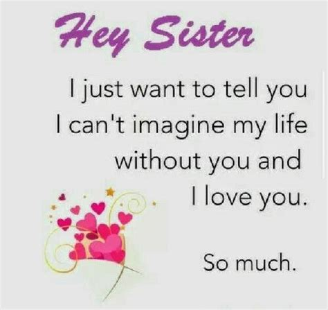 sister sayings ideas  pinterest sisters sister love quotes  sister love