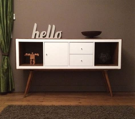 Etagere En Verre 2589 by Ikea Console Bois Ikea Kallax Hack For Record Collection