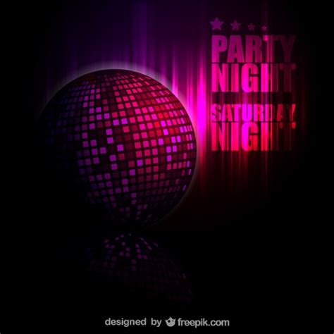 disco ball background free vector free download