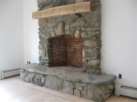 fieldstone fireplace pictures and ideas