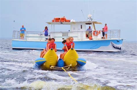 destin boat rides banana boat rides in destin destin florida