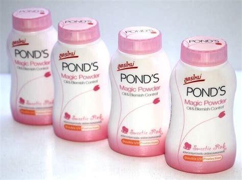 Pond S Bb Magic Powder Thailand phấn phủ bột pond s magic powder trắng hồng th 193 i lan