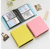 68 Pockets Mini Instax Photo Album Holder Candy Color Book Style
