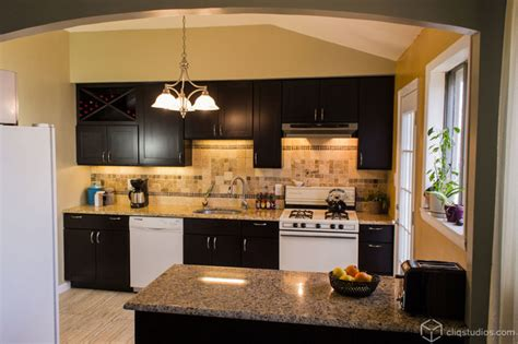 New Modern Kitchen Cabinets Black Kitchen Cabinets Contemporary Kitchen Minneapolis By Cliqstudios