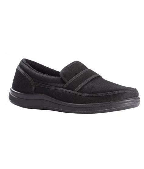 buy liberty gliders black canvas shoes for snapdeal
