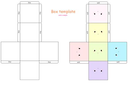 pattern box ai boxie template by strawberry crepe on deviantart