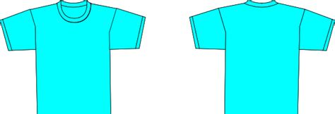 Teal Clipart T Shirt Pencil And In Color Teal Clipart T Shirt Teal T Shirt Template