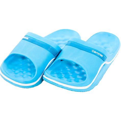 shower slipper womens cushion slip on sandals slides house shoes flip