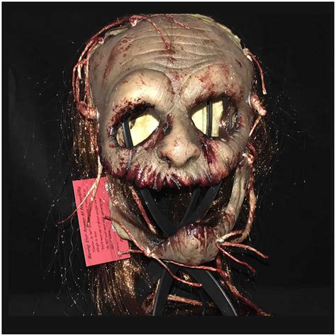 Masker Line voodoo ii mask by blood line designs mad about horror