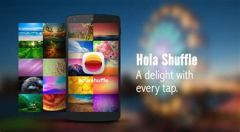 hola apk hola launcher para optimizar un smartphone android