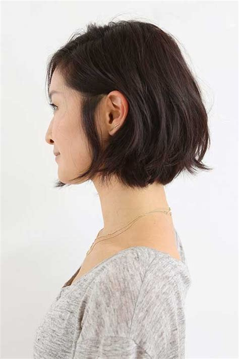 chin length haircuts for fine oily hair 15 unique chin length layered bob layered bobs short