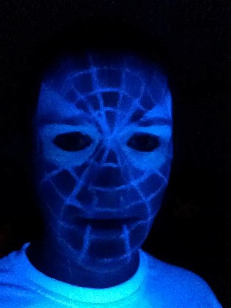 black light tattoo shops spider man blacklight face tattoo by cobaltghost on deviantart
