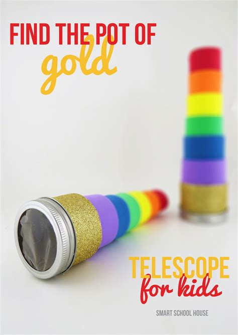 telescope craft for pot of gold telescope